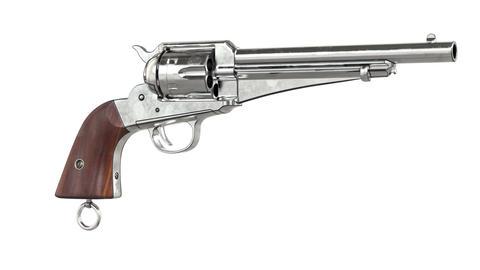 Gun cowboy chrome revolver Animation