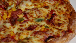 Pizza closeup Footage