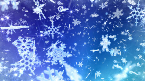 Snow Flake 16 AL2 4k Animation