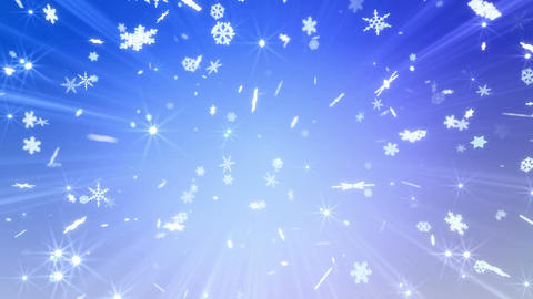 Snow Flake 16 AM1 4k Animation
