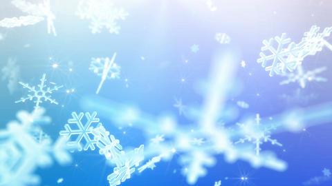 Snow Flake 16 BL1 4k Animation
