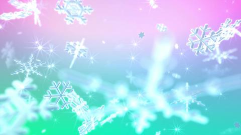 Snow Flake 16 BL2 4k Animation