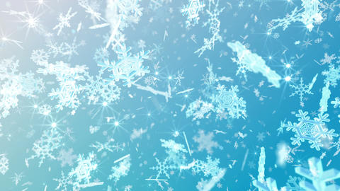 Snow Flake 16 Dmix1 4k Animation