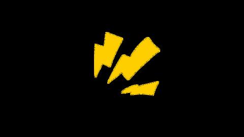 White Lightning Electric Light Emotion Animation