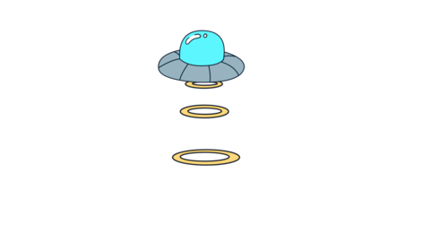 UFO Light Object Bright Light Animation