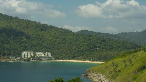 Tropical Landscape timelapse GIF