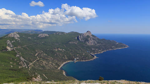 South Crimea, Laspi Bay. TimeLapse Footage