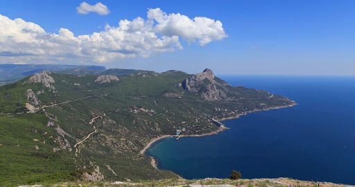 South Crimea, Laspi Bay. TimeLapse Footage