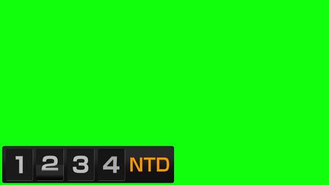 反転フラップ式値段表(ニュー台湾ドル) ※カラー制御付 After Effectsテンプレート
