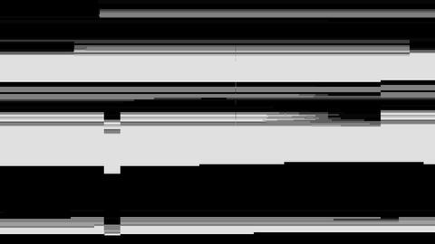 Video Glitch Effect Animation