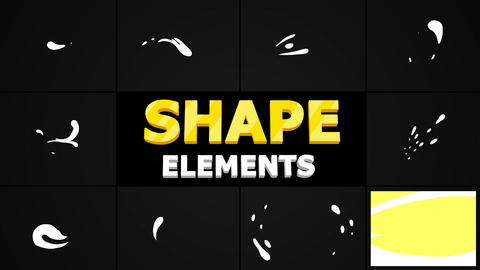 Liquid Shapes Motion Graphics Template