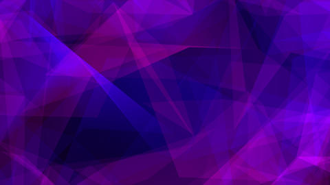 Colorful low poly Colored triangles gradient loop Live Action