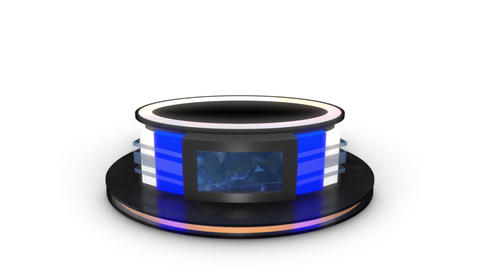 TV Studio 3d Virtual News desk 12 After Effects Template