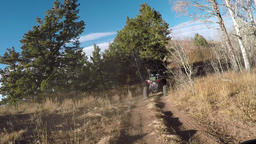 Mountain top off road 4x4 recreation POV HD 939 Footage
