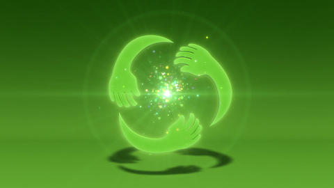 SHA Kind Image BG Green CG動画