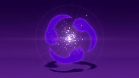 SHA Kind Image BG Violet Animation