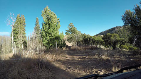 Off road 4x4 recreation ATV top of mountain POV 4K 941, Live Action