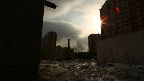 urban scene 03 Footage