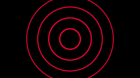 Background CG circle red 動画素材, ムービー映像素材