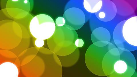 Colorful dot CG動画
