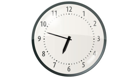 Wall Clock - 24 seconds Animation