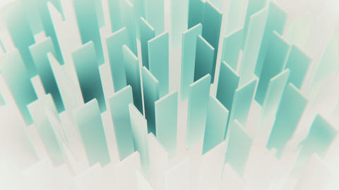 Green and White Abstract Corporate Motion Background Animation
