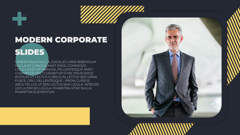 Modern Corporate Slides After Effects Template