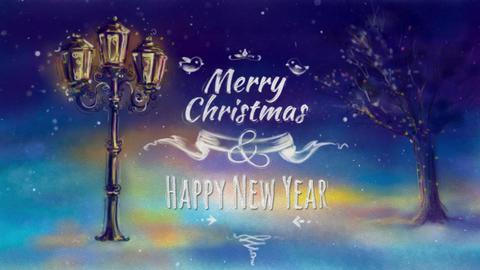 Christmas Greeting Card Animation