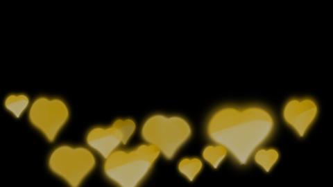 Hearts Bokeh 1 Animation