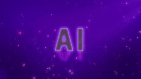 SHA AI Image BG Violet Animation