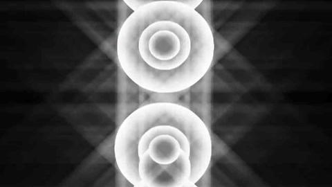 White light speaker Animation