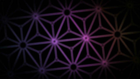 Japanese abstract tunnel Animation