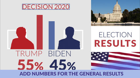 Presidental Election 2020 After Effects Template