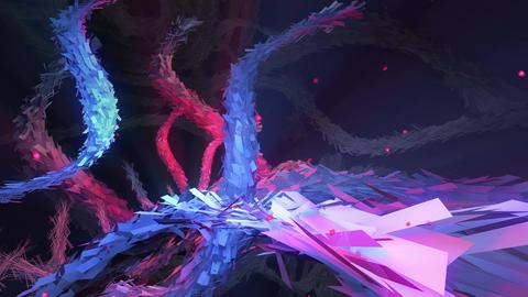 Serpentine Chaos 4K 04 Vj Loop Animation
