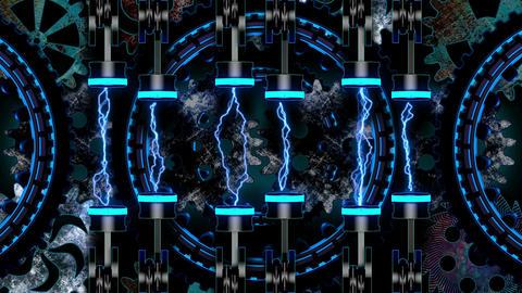 Techno Heart 4K 02 Vj Loop Animation