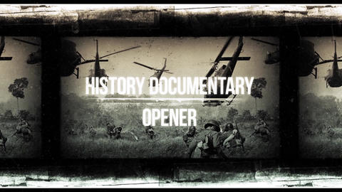 History Documentary Opener After Effects Template