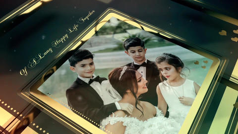 Wedding Slideshow - wedding album - wedding video - wedding day After Effects Template