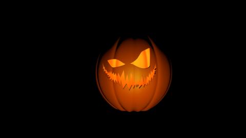 Halloween Pumpkin C4D 3D Model