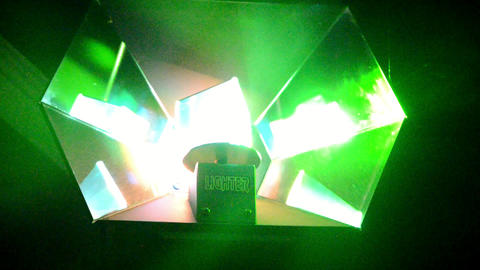 Stage Light in Night Club 3 Footage
