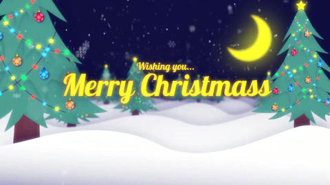 Chrismas title After Effects Template
