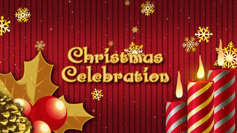 Christmas Celebration Promo After Effects Template