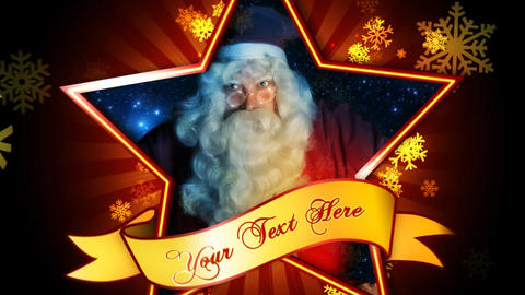 Christmas Super Star Promo After Effects Template