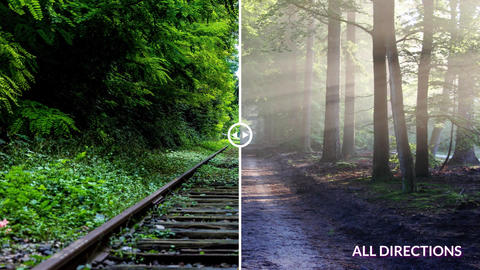 Before & After Sliders After Effects Template