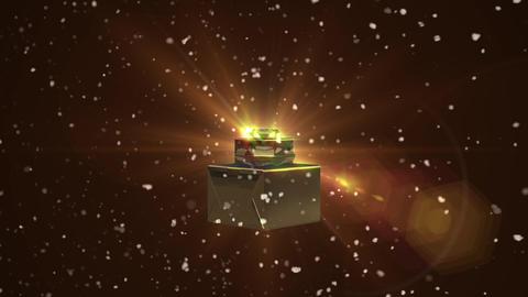 Christmas decoration gift loop animation Videos animados