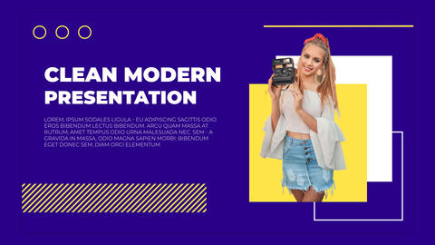 Clean Modern Presentation After Effects Template