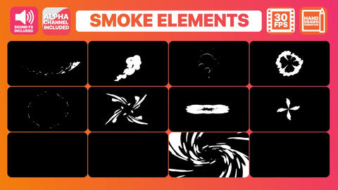 Smoke Pack Motion Graphics Template