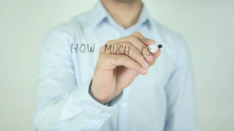 How Much is Your Property Worth?, Writing On Transparent Screen Footage