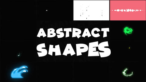 Abstract Liquid Shapes After Effects Template