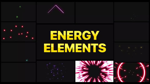 Energy Pack Apple Motion Template