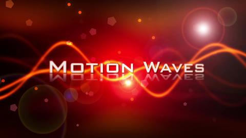 Motion Waves Promo After Effects Template